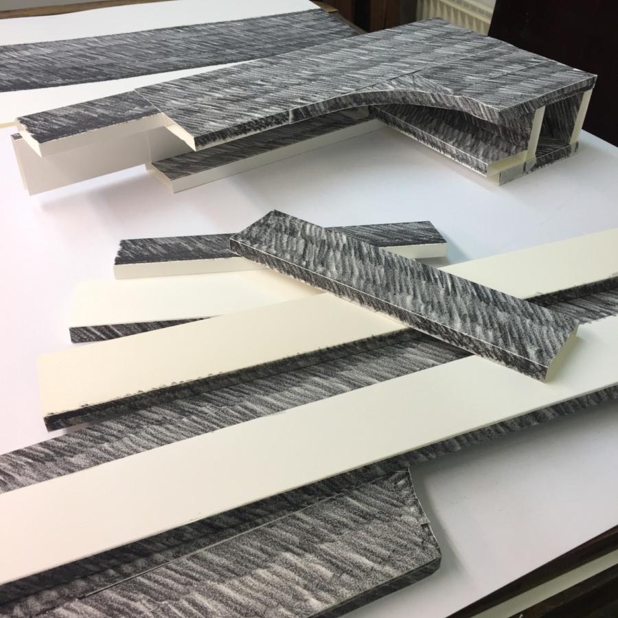 Paper weight Maze de Boer 7